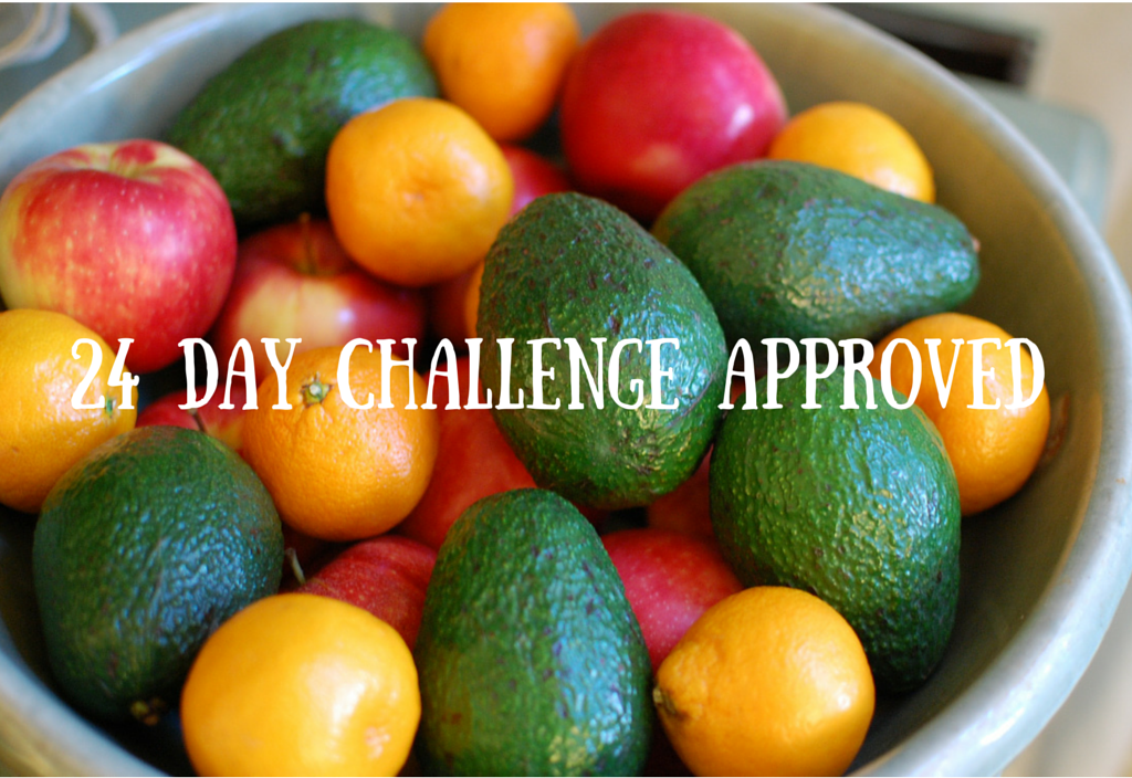 24 Day Challenge Approved